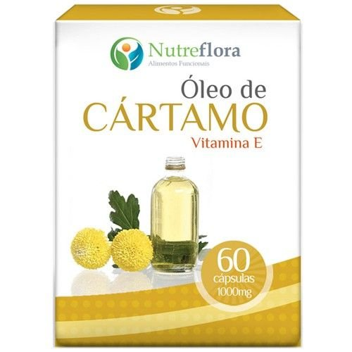 Oleo de Cartamo c/ Vitamina E 1g