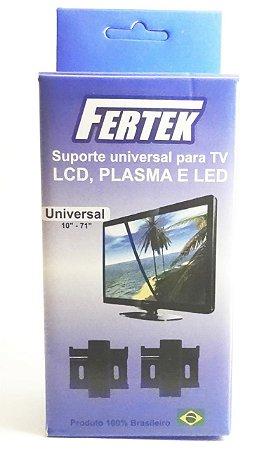 SUPORTE  TV FIXO UNIVERSAL FERTEK  10' A 85'