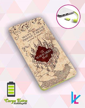 Carregador Portátil - Harry Potter Mapa do Maroto