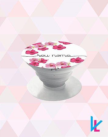 Pop Socket - Flores diversas com nome