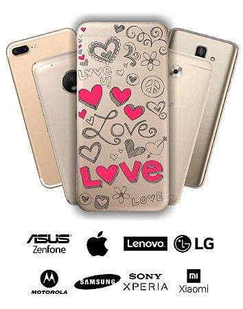Capinha - Love traços