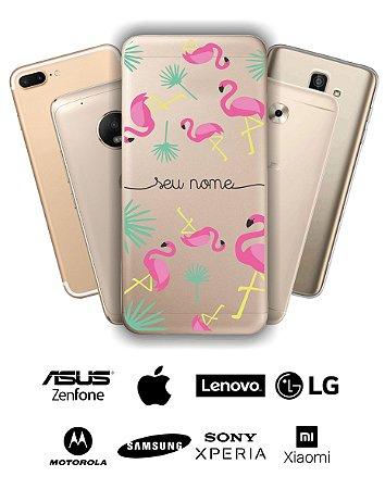 Capinha - Flamingos com nome