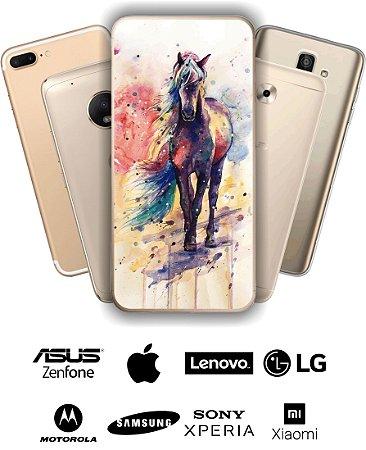 Capinha - Cavalo aquarela