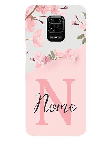 Capinha Personalizada para Xiaomi RedMi Note 9 Anti Impacto - Delicate Flowers