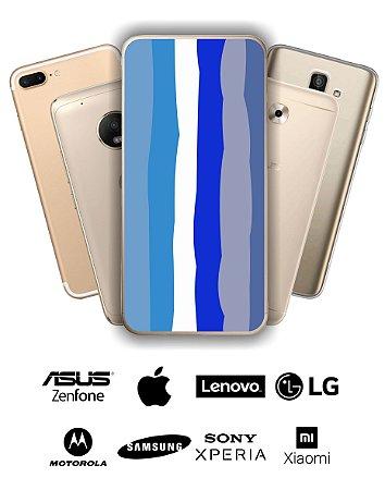 Capinha Personalizada - Arco Íris Azul