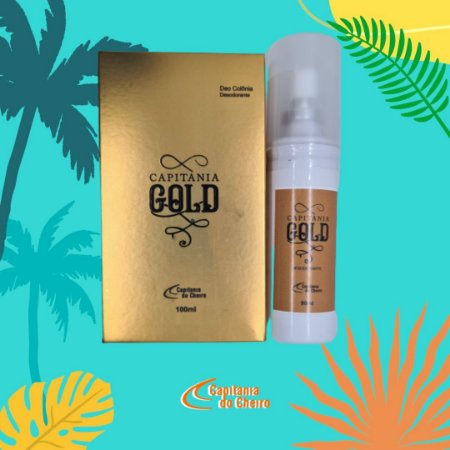 Kit Deo Colônia Cap. Gold 100 ml + Desodorante 90 ml