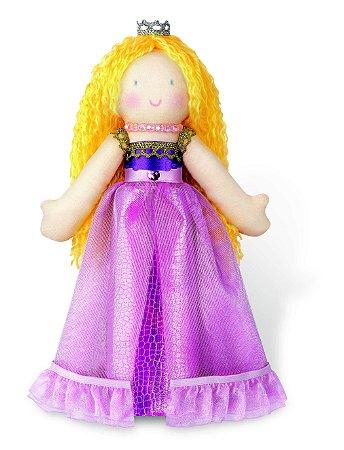 Kit Boneca Princesa - Boneca para Costurar