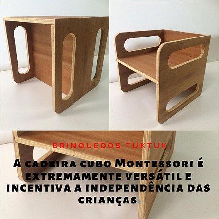 Cadeira Cubo Montessori TukTuk