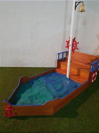 Barco caixa de areia