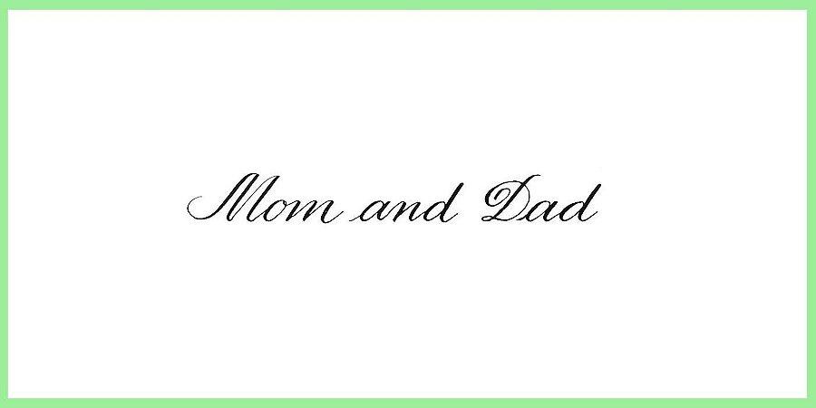 Convites de Casamento - Caligrafia Bico de Pena em envelopes
