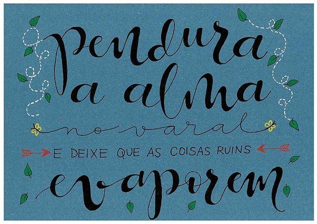 Lettering - Alma