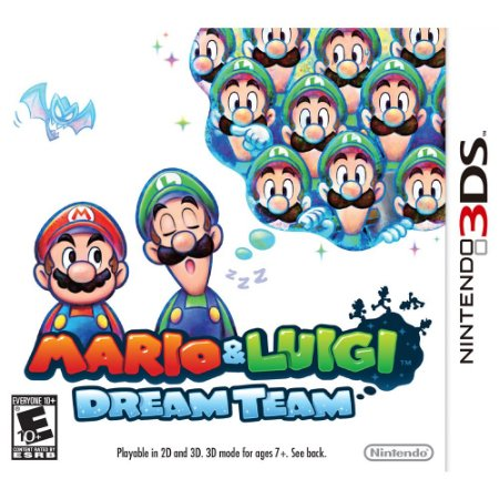 Jogo Mario & Luigi: Dream Team Nintendo 3DS