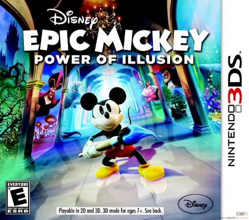 Jogo Disney Epic Mickey: Power of Illusion - 3DS