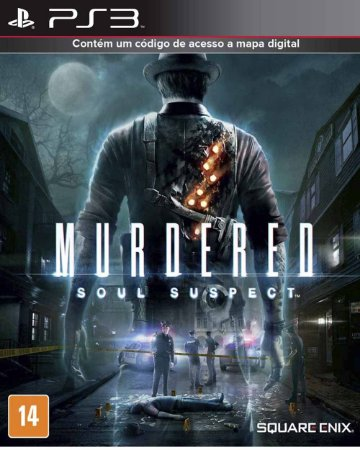 Jogo Murdered: Soul Suspect  PlayStation 3