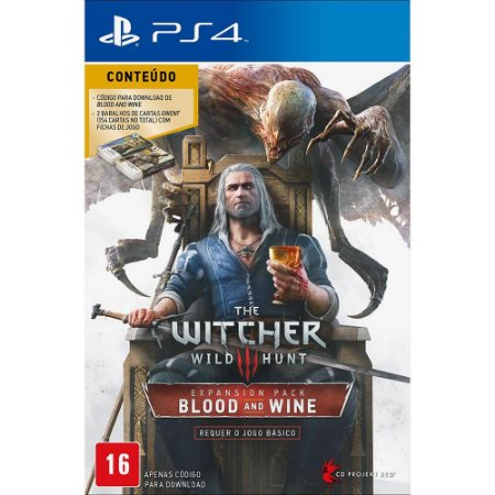 The Witcher 3: Wild Hunt: Blood and Wine (Pacote de Expansão) - PS4