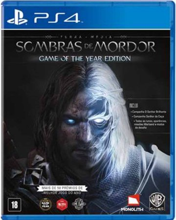 Jogo Middle-Earth: Shadow of Mordor Goty - PS4