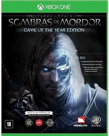 Jogo Middle-Earth: Shadow of Mordor Goty - Xbox One