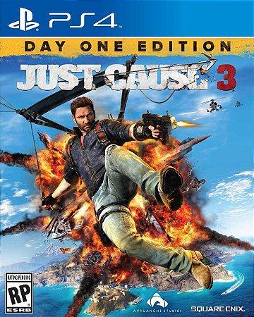 Jogo Just Cause 3: Edição Day One - PS4