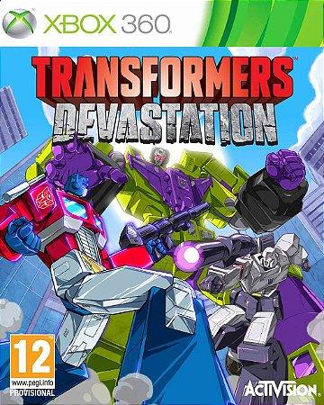 Jogo Transformers: Devastation - Xbox 360