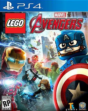 Jogo Lego Marvel Avengers - PS4