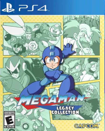 Jogo Mega Man: Legacy Collection - PS4