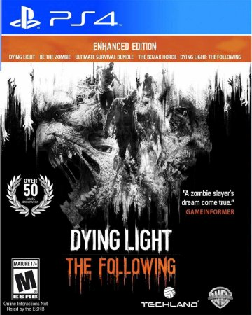 Jogo Dying Light: The Following Enhanced Edition - PS4