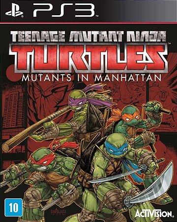 Jogo TMNT: Mutants in Manhattan - PS3