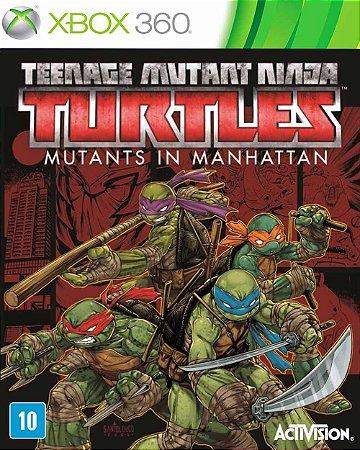 Jogo TMNT: Mutants in Manhattan - Xbox 360