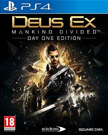 Jogo Deus Ex: Mankind Divided - PS4
