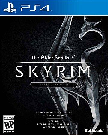 Jogo The Elder Scrolls V: Skyrim Special Edition - PS4