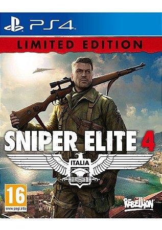 Jogo Sniper Elite 4: Edição Limitada - PS4
