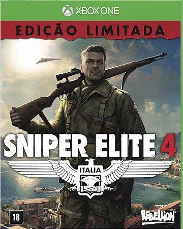 Jogo Sniper Elite 4: Edição Limitada - Xbox One