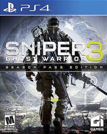 Jogo Sniper Ghost Warrior 3: Season Pass Edition - PS4