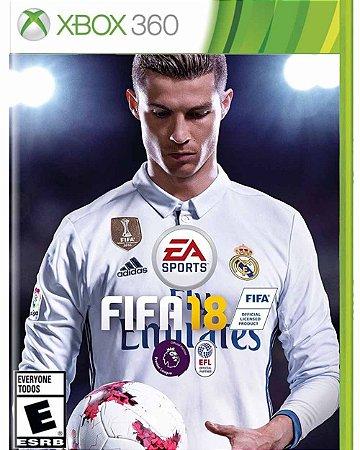 Jogo FIFA 18 - X360