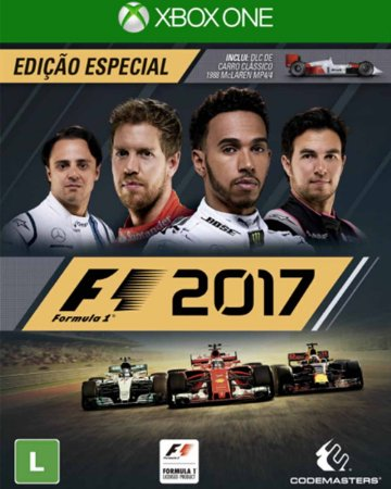 Jogo Fórmula 1 2017 - ONE