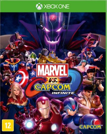 Jogo Marvel Vs Capcom Infinite - Ed Limitada - Xbox One