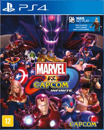Jogo Marvel Vs Capcom Infinite - Ed Limitada - PS4