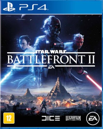Jogo Star Wars - Battlefront II - PS4