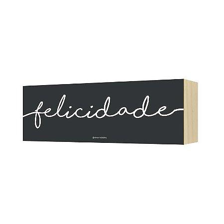 """Quadro Horizonte """"Felicidade"""""""
