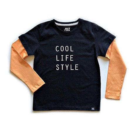 Camiseta Cool - preta