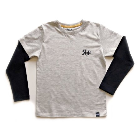 Camiseta Style - mesclada