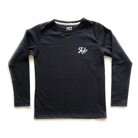 Camiseta Style Skate - preta
