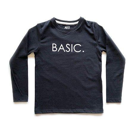 Camiseta Basic - preta