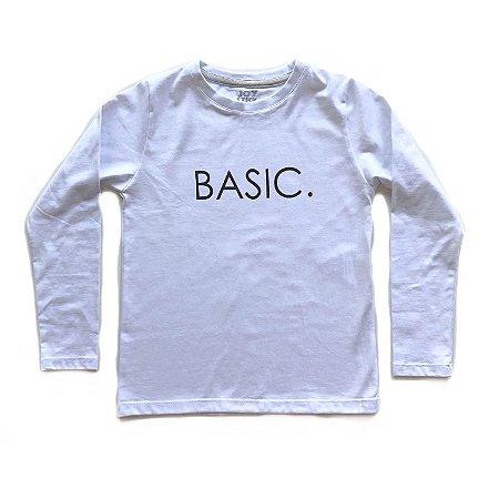 Camiseta Basic - branca