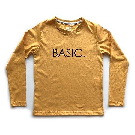 Camiseta Basic - mostarda
