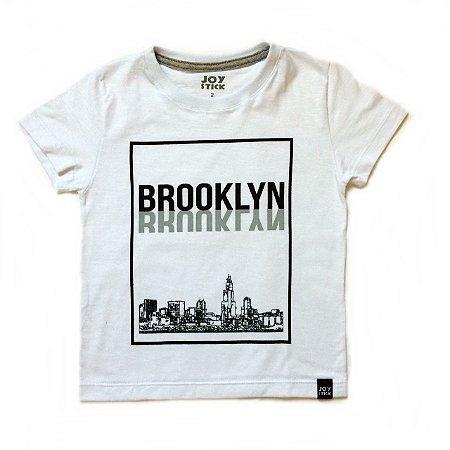 Camiseta Brooklin branca