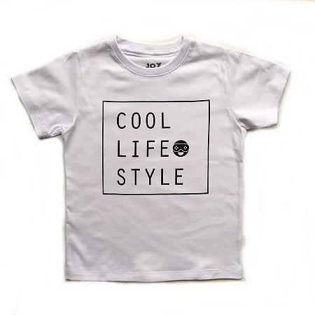 Camiseta Cool life style branca