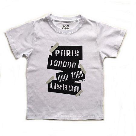 Camiseta trip - branca