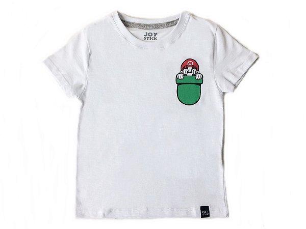 Camiseta Mario - branca