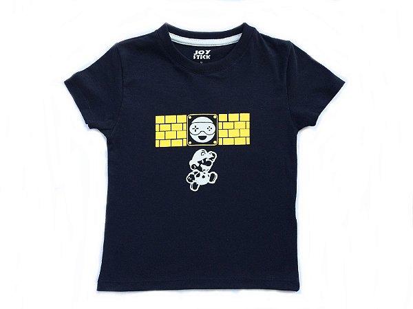 Camiseta Mario Bros - preta